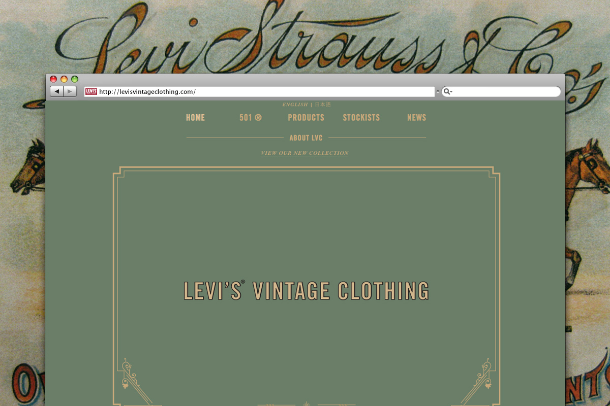 Levis Vintage Clothing