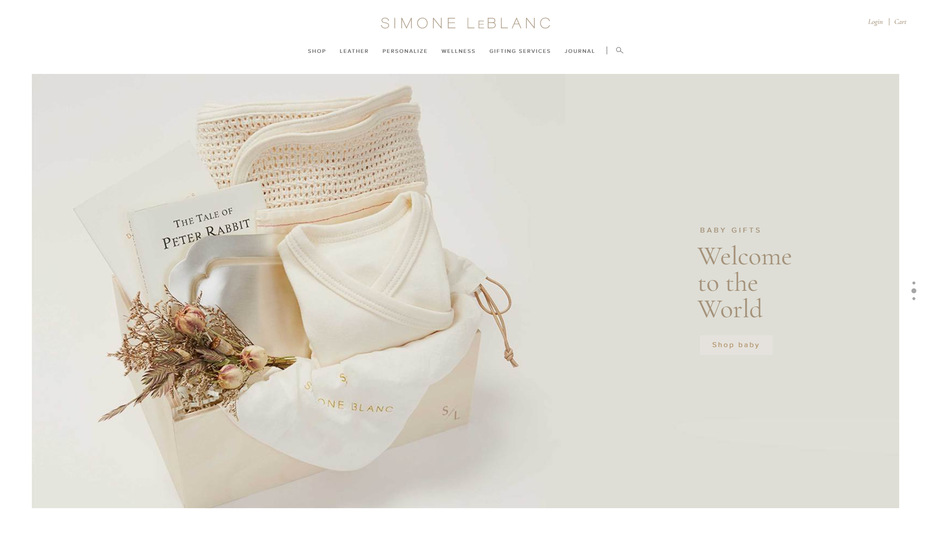 Simone leblanc built by blank simone leblanc is a los angeles based premium gifts company we built the site on the shopify e commerce platform including a custom monogram feature negle Image collections